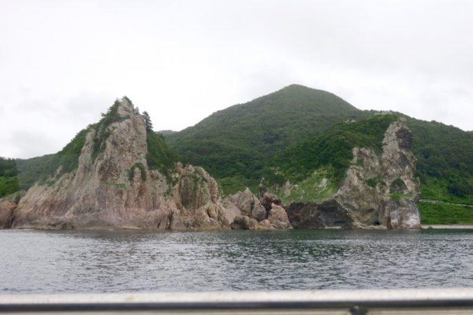 佐井村から仏ヶ浦へ向けた海岸線に見える風景(その1)