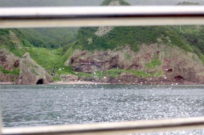 佐井村から仏ヶ浦へ向けた海岸線に見える風景(その2)