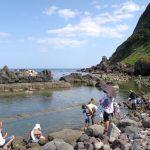 「水無海浜温泉」の天然露天風呂(その5)