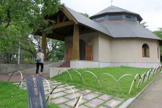 「トラピスチヌ修道院」の旅人の聖堂