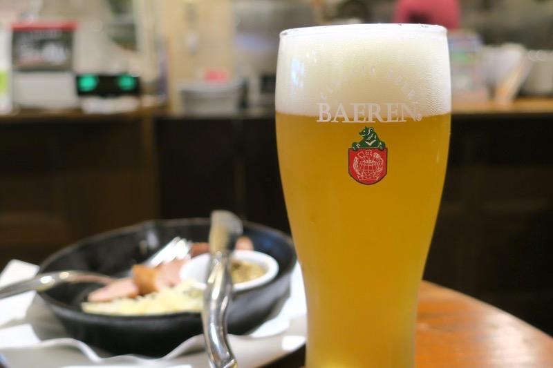 ベアレン醸造所の岩手ヴィット(グラス、500円)