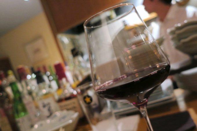 グラスワインは1杯600円から。