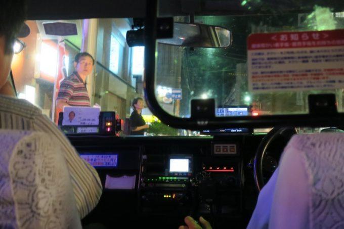 「Shell bar きさらぎ」からタクシーに乗り、宝来町へ向かう。