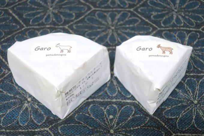 山田農場のヤギのチーズを2種類買ってきた(その1)。