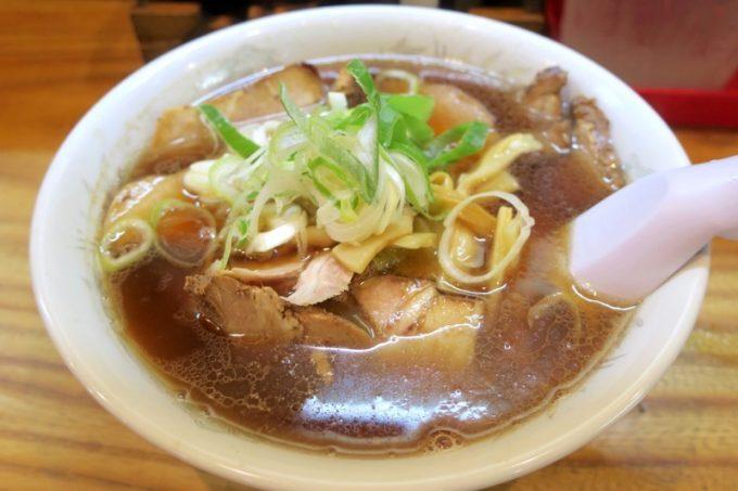 「お食事処 味しん」のチャーシューメン(900円)