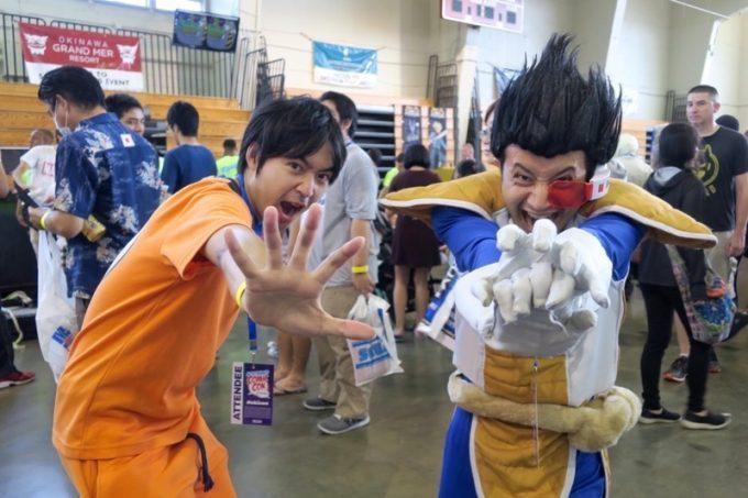 日本人によるドラゴンボールコスも。