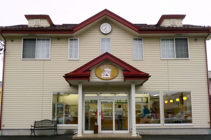 盛岡市内中心部にある「福田パン」本店。