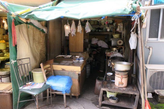 青森「はるえ食堂(横山商店)」の外観
