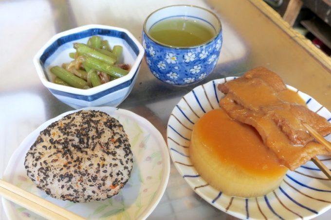 青森「はるえ食堂(横山商店)」で食べたお食事。