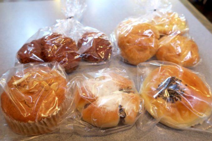 キングベークのパンを購入して帰った。