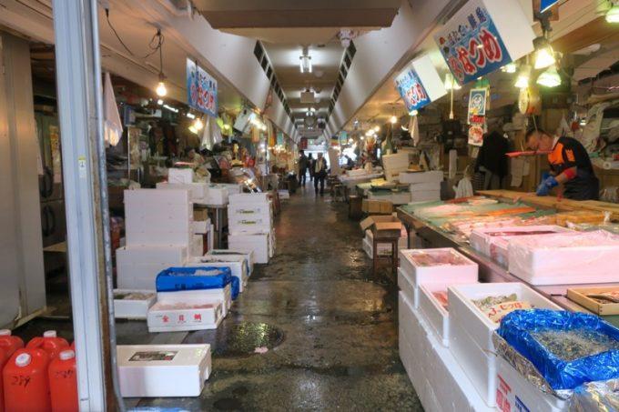 「青森魚菜センター」の内部(その2)