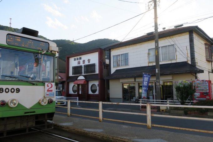 函館の谷地頭停留場前にある「酒保古西商店」を訪れた。