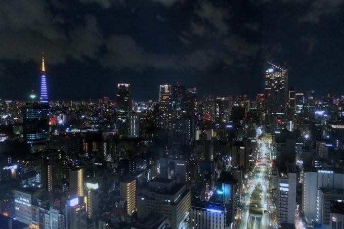 パークホテル東京からの夜景