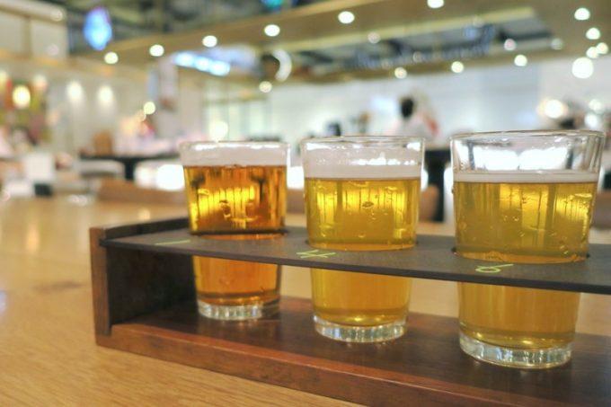飲み比べセット(1000円)を試す。
