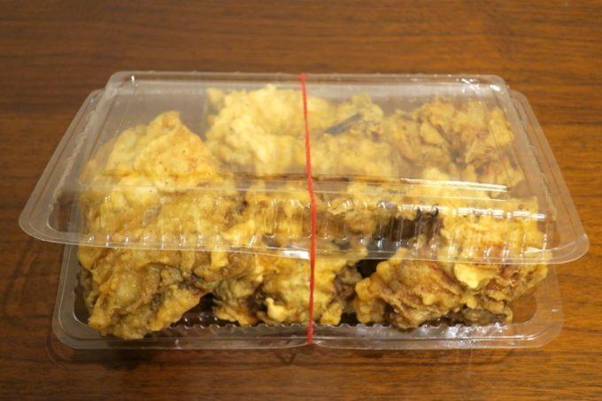 チキンバラバラ(800円)は、注文から出来上がりまで20分かかる。