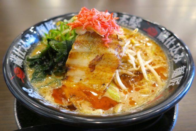 「味噌の具志堅」海老味噌らーめん(840円)