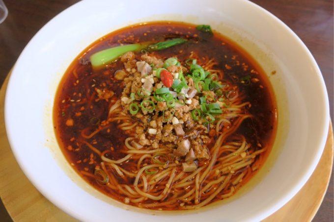 辣香担々麺(ラーシャンタンタンメン、850円)