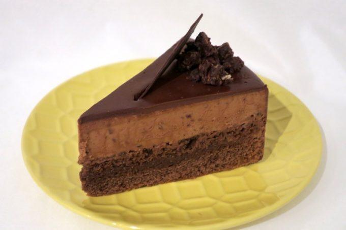 タイムレスチョコレートのチョコレートケーキ(600円)