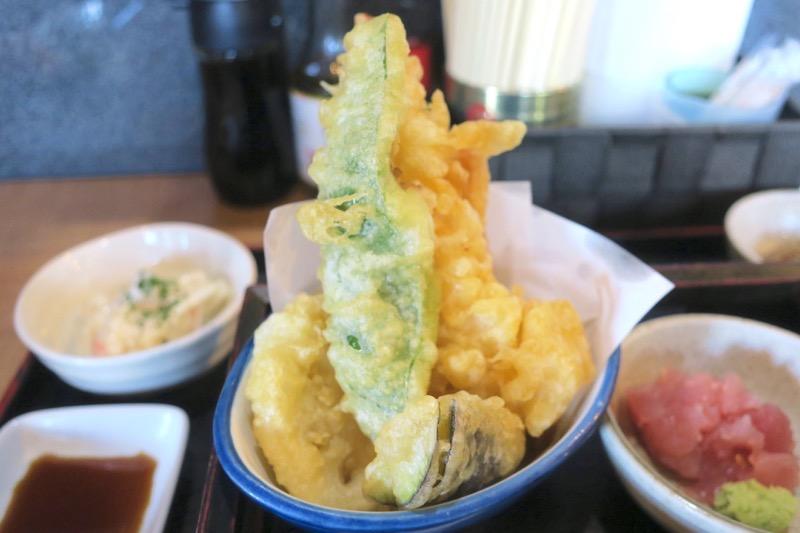 姫膳の天ぷら。
