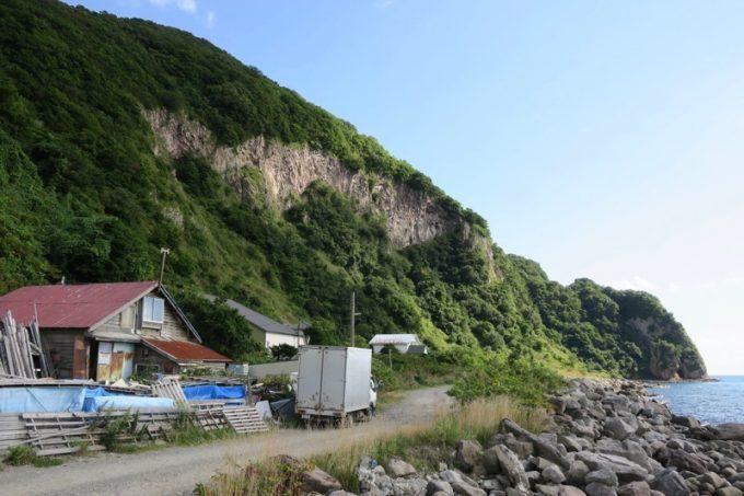 函館の「穴間海岸(穴澗海岸)」に行ってきた。