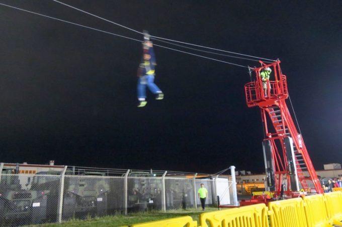 「キャンプキンザーフェスティバル」のファンランドで遊ぶ様子(その2)