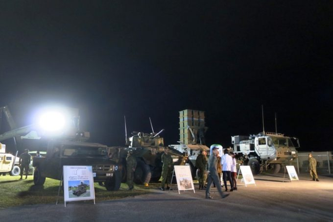 「キャンプキンザーフェスティバル」に展示されていた軍用車両(その1)