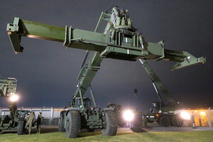 「キャンプキンザーフェスティバル」に展示されていた軍用車両(その2)