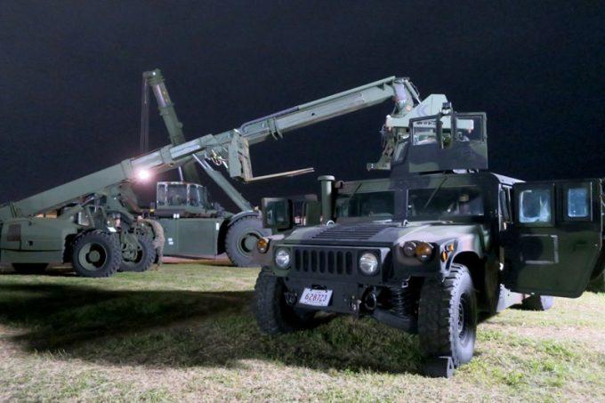 「キャンプキンザーフェスティバル」に展示されていた軍用車両(その3)