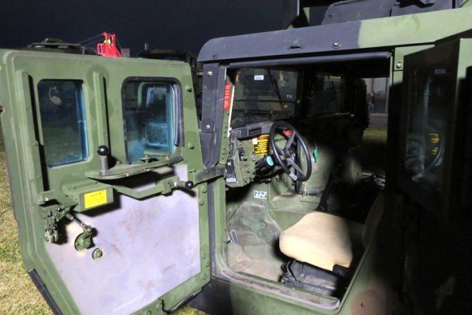 「キャンプキンザーフェスティバル」に展示されていた軍用車両(その4)