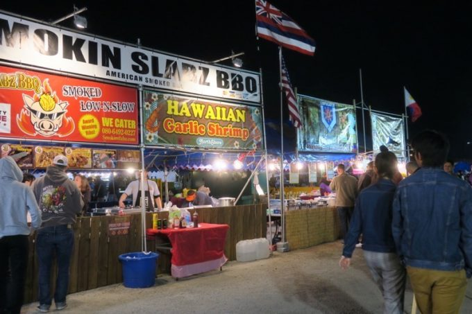 「キャンプキンザーフェスティバル」もパワフルでアメリカンなフードが食べられる。