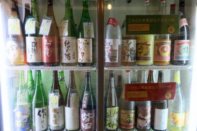 でんすけ商店といえば、日本酒がウリ。