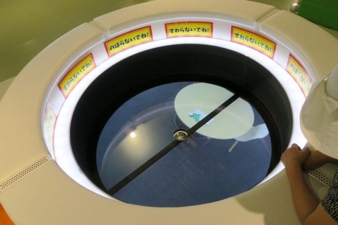 キラリス函館3階にあるはこだてみらい館と繋がっているSoraコーナー。