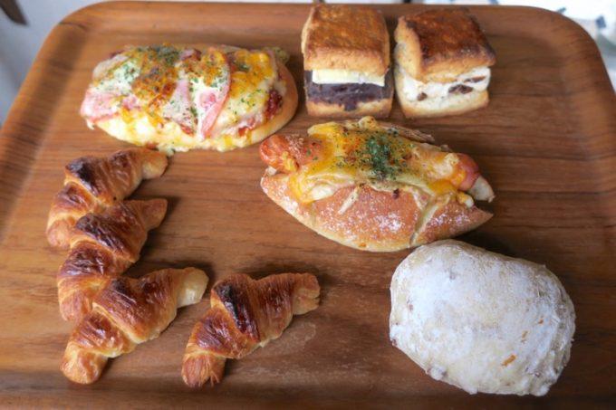 この日「hoppepan(ほっぺパン)」で購入したパン6種類。