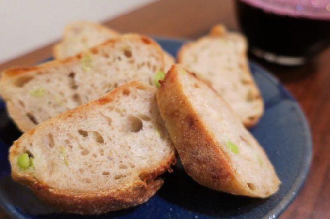 枝豆チーズはお酒のアテにもぴったり。