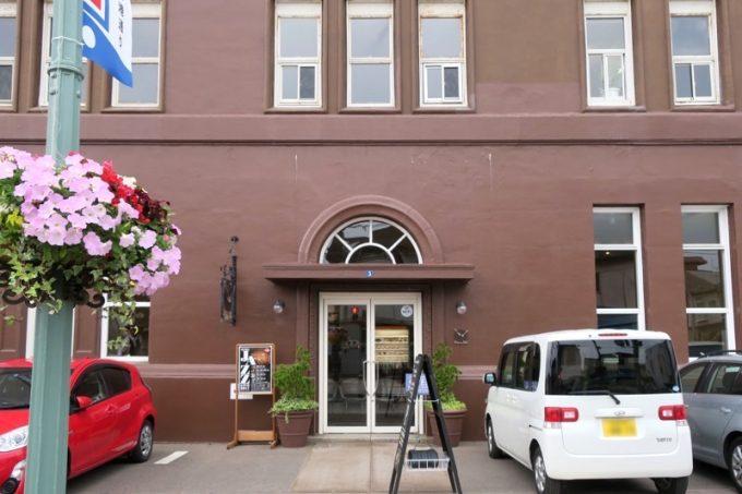 函館の人気カフェ「Cafe&Deli MARUSEN(マルセン)」の外観。
