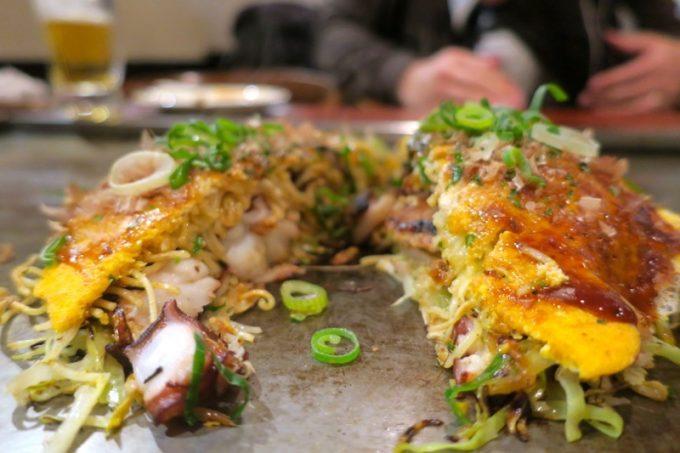 広島のお好み焼きを食べるの、久々!