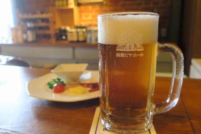 函館開拓使ビールをおかわり。