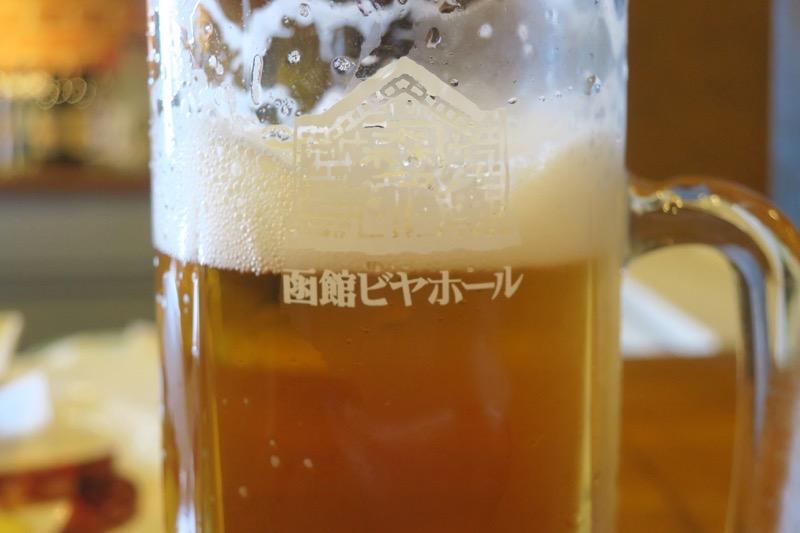 函館開拓使ビールのアップ。