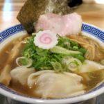 「中華そば ぬーじボンボン メンデス」の煮干しワンタン麺(850円)