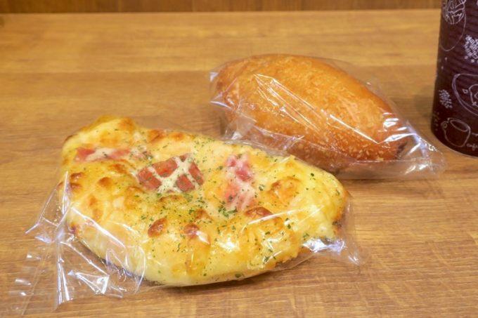 アクロスプラザ古島駅前内「マーサンミッシェル ブーランジェリー」で購入したパン。
