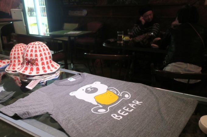 宜野湾「BEEAR(ビーアー)」のお店グッズがかわいい。