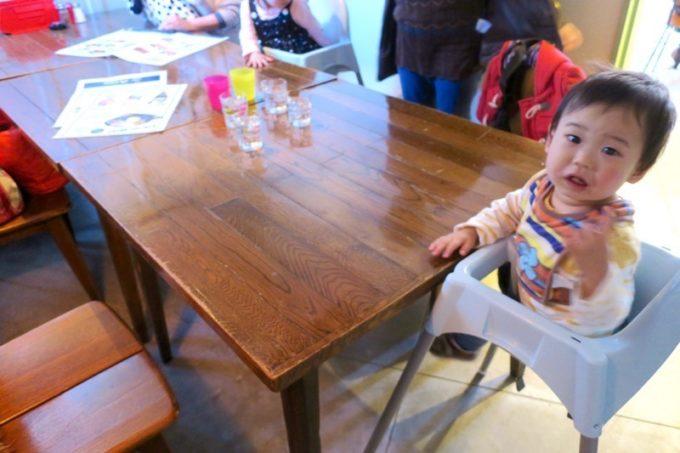 子連れで食べに行った「Jolly Jellyfish(ジョリージェリーフィッシュ)」では、個室を利用させてもらった。
