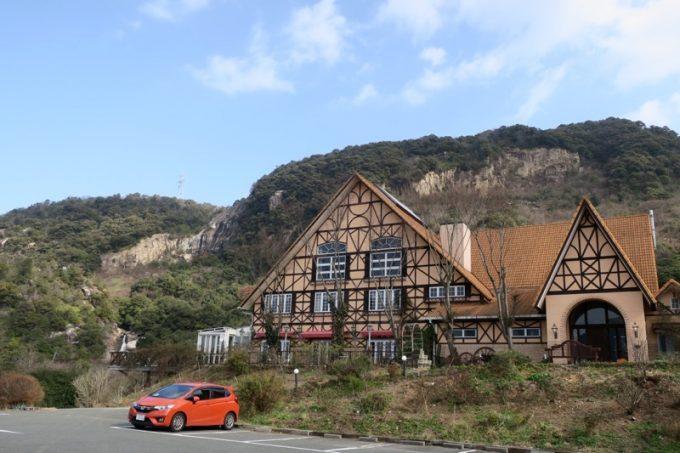 山口地ビールのレストラン「サン・レミ・ド・プロヴァンス」の外観。