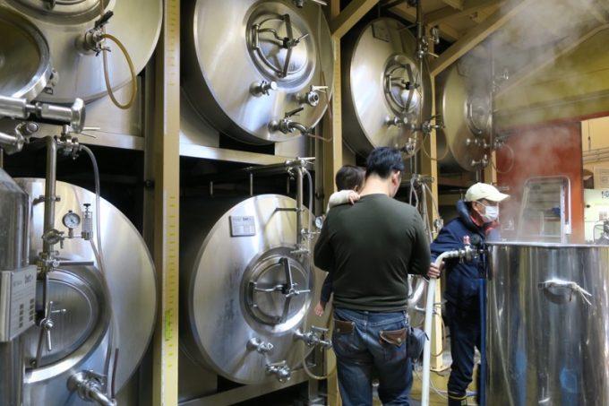山口地ビール工場見学もさせてもらいました。