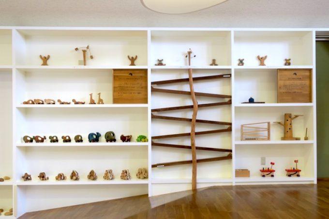「やんばる森のおもちゃ美術館」の館内の様子(その2)