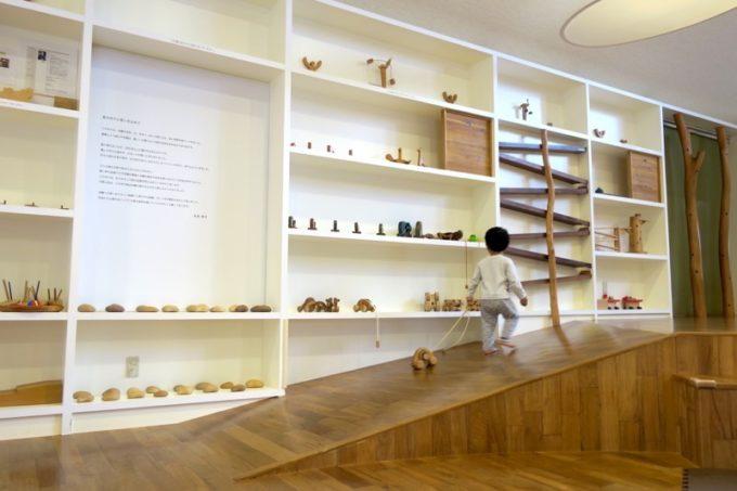「やんばる森のおもちゃ美術館」の館内の様子(その3)