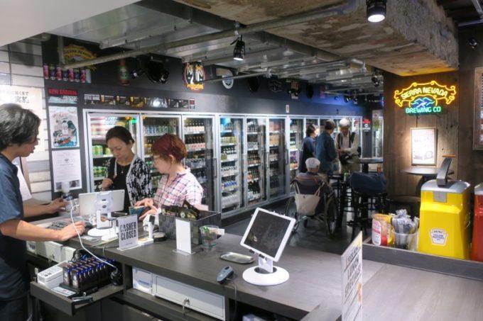 横浜駅西口の相鉄ジョイナス地下1階にある「アンテナアメリカ横浜店」の店内。