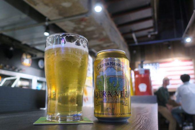 「アンテナアメリカ横浜店」で飲んだシエラネバダのOtra Vez(オトラベズ、540円)