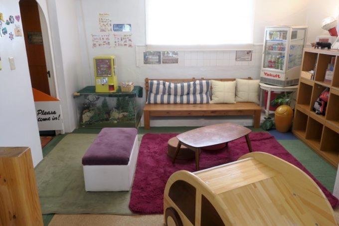 「カーサマチルダ(Casa Machilda)」の休憩スペース