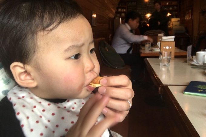 卵を使っていないので、お子サマーも食べられる。